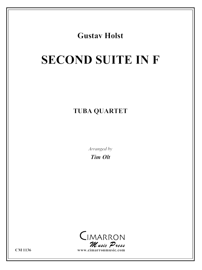 Holst - Suite in F - Tuba Quartet (EETT)
