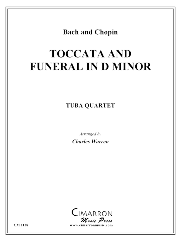 Bach, J S and Chopin, F - Toccata and Funeral in D Minor - Tuba Quartet (EETT)