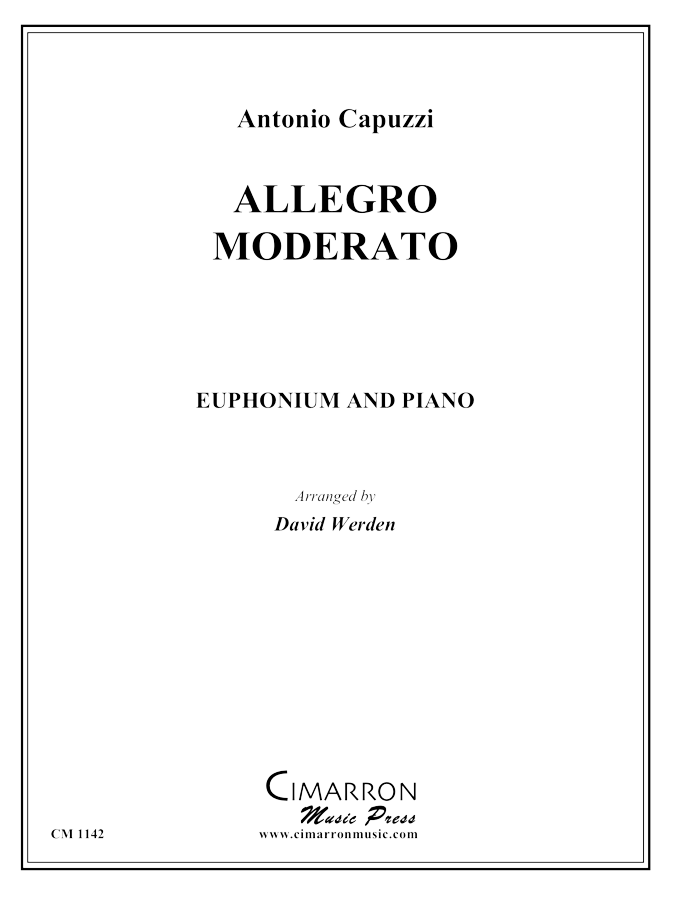 Capuzzi, A - Allegro Moderato - Euphonium and Piano