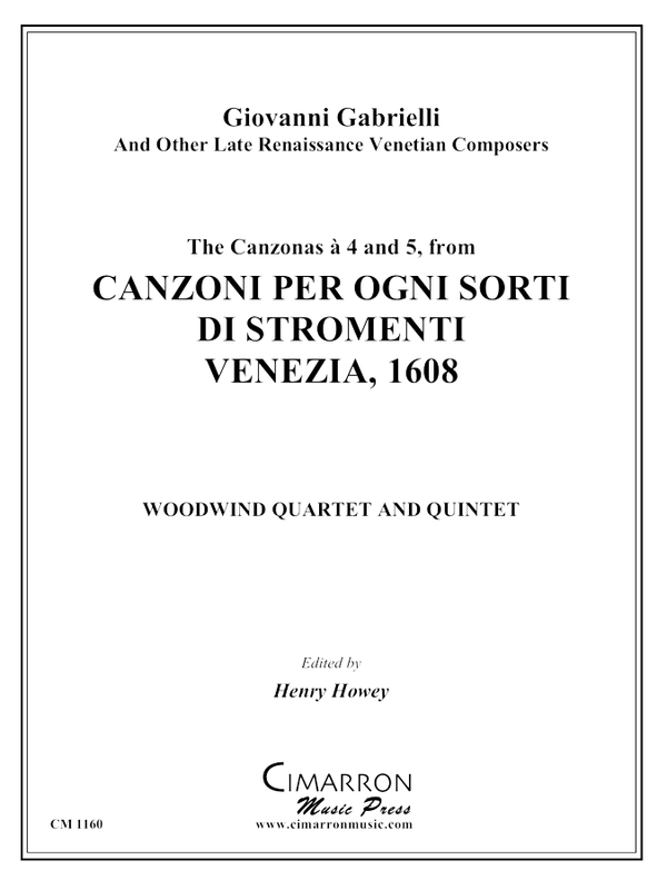 Various - 16 Canzoni - Woodwind Quartet