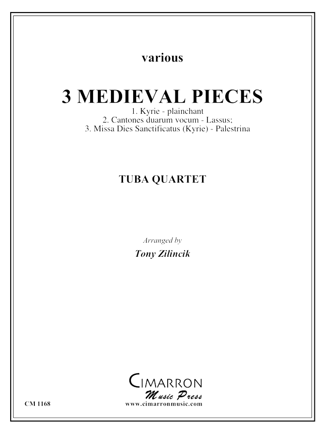 Various - Three Medieval Pieces - Tuba Quartet (EETT)