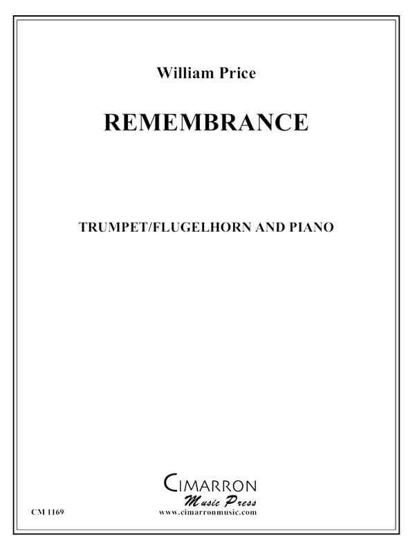 Price - Remembrance - Trumpet and Piano