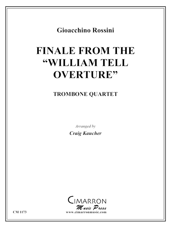 Rossini - Finale, from William Tell Overture - Trombone Quartet