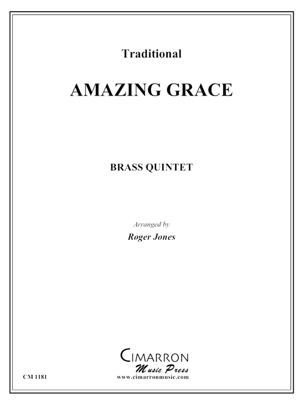 Traditional - Amazing Grace - Brass Quintet