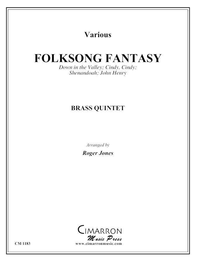 Traditional - Folksong Fantasy - Brass Quintet