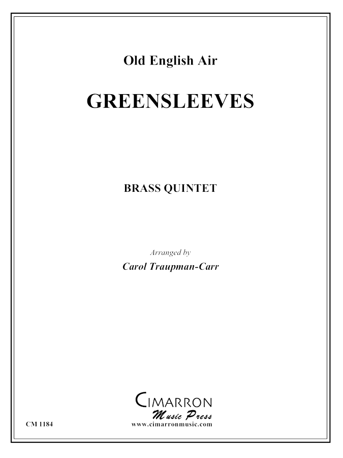 Traditional - Greensleeves - Brass Quintet