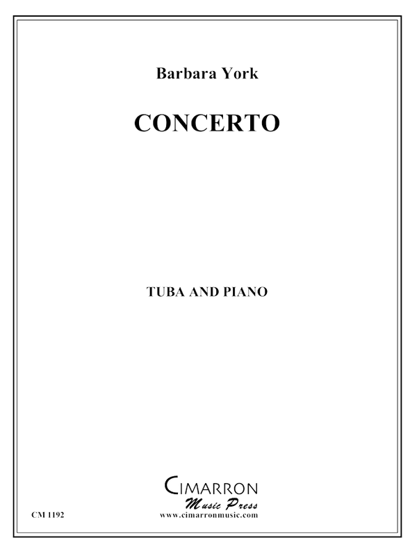 York - Concerto - Tuba and Piano