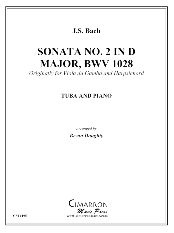 Bach, J S - Sonata BWV 1028 - Tuba and Piano