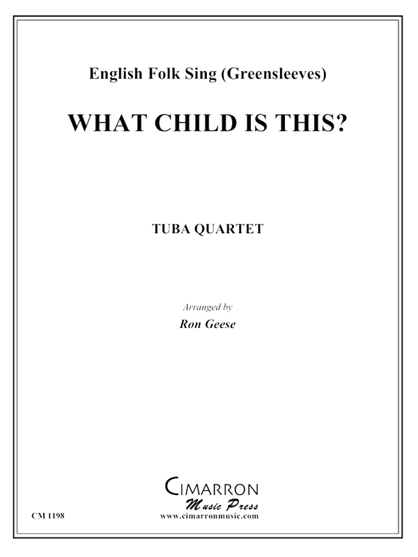 Traditional - What Child is This - Tuba Quartet (EETT)