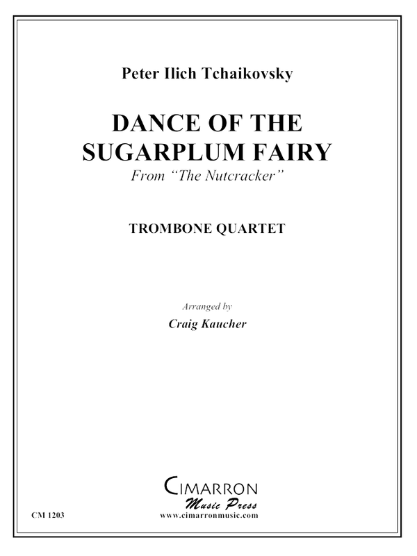 Tchaikovsky - Dance of the Sugarplum Fairy - Trombone Quartet