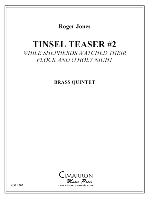 Jones - Tinsel Teaser #2 - Brass Quintet