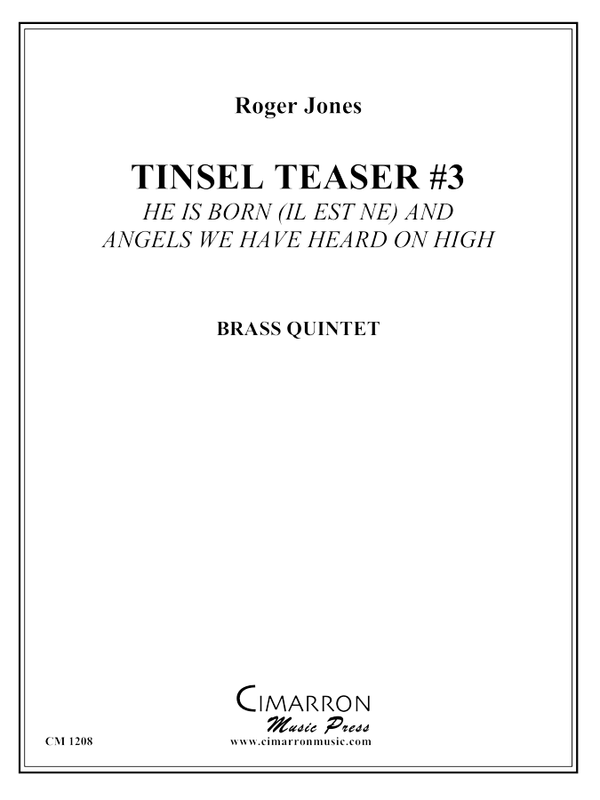 Jones - Tinsel Teaser #3 - Brass Quintet