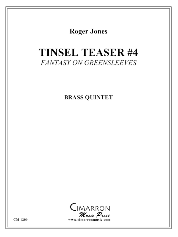 Jones - Tinsel Teaser #4 - Brass Quintet