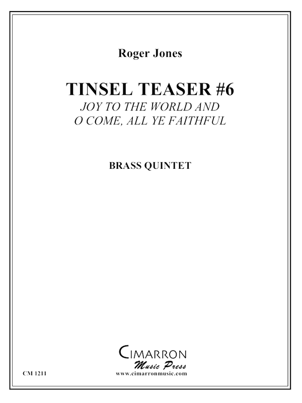 Jones - Tinsel Teaser #6 - Brass Quintet