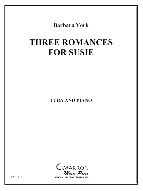 York - Three Romances for Susie - Tuba and Piano