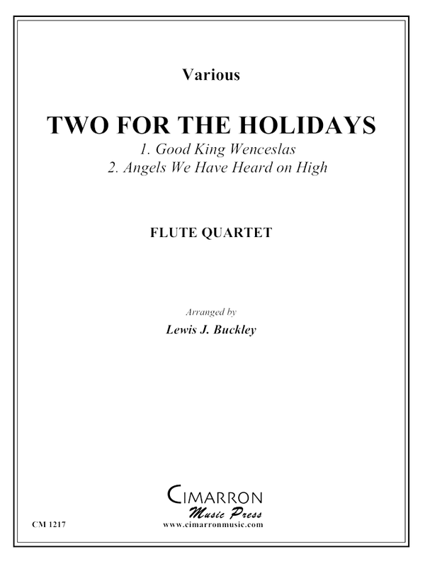 Various - Two for the Holidays - Flute Quartet