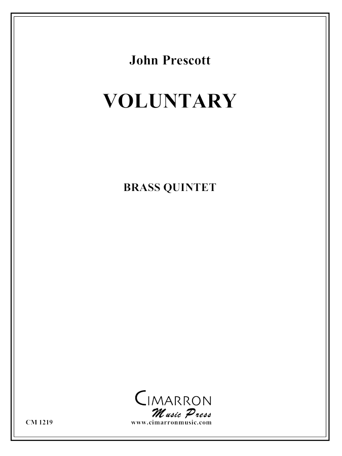 Prescott - Voluntary - Brass Quintet