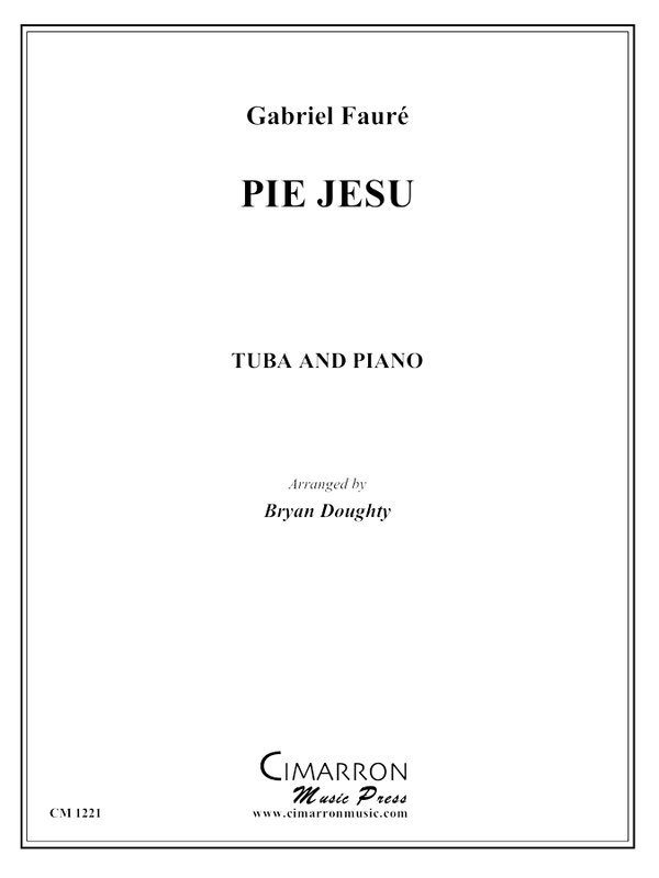 Fauré, G - Pie Jesu - Tuba and Piano