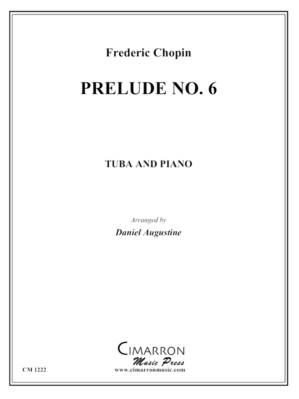 Chopin, F - Prelude No. 6 - Tuba and Piano