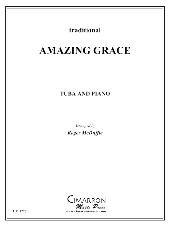 Traditional - Amazing Grace - Tuba and Piano