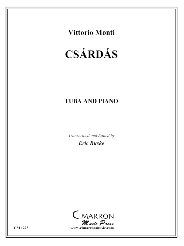 Monti - Csárdás - Tuba and Piano