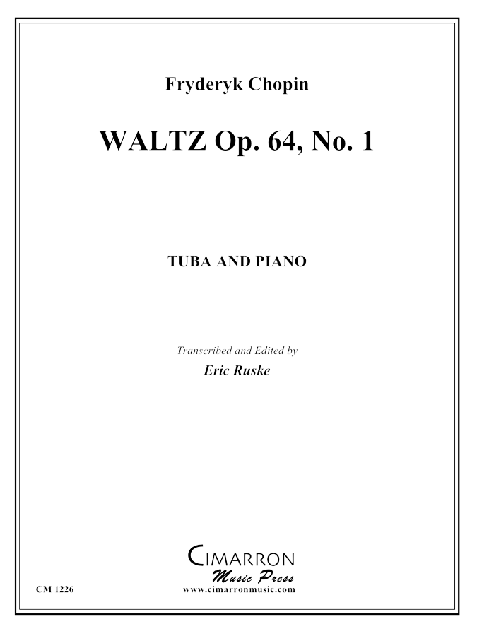 Chopin, F - Waltz Op. 64, No. 1 - Tuba and Piano