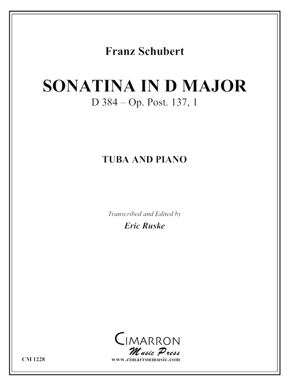 Schubert - Sonatina in D Major - Tuba and Piano