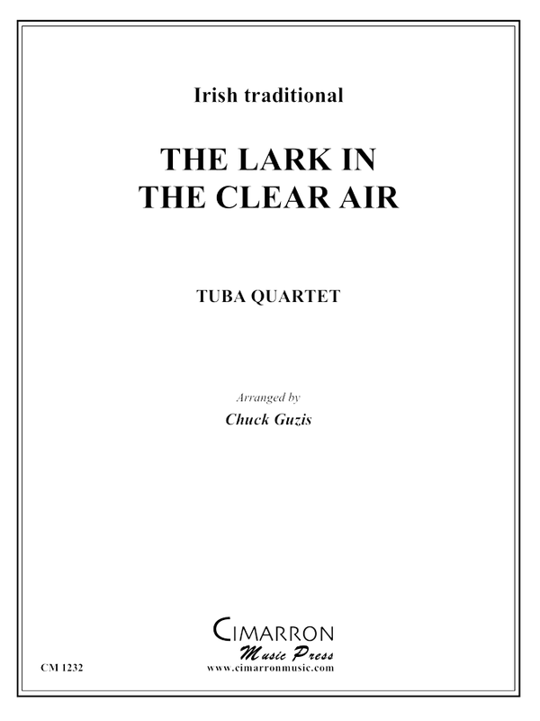 Irish traditional - The Lark in the Clear Air - Tuba Quartet