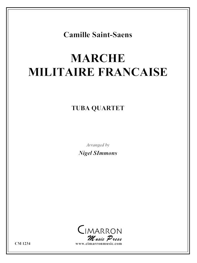 Saint-Saens - March Militaire Francaise - Tuba Quartet