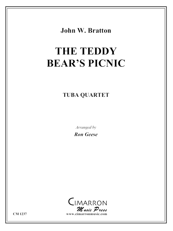 Bratton, J - The Teddy Bear's Picnic - Tuba Quartet