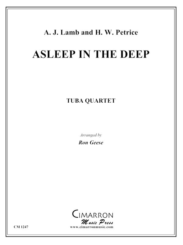 Lamb and Petrie - Asleep in the Deep - Tuba Quartet (EETT)