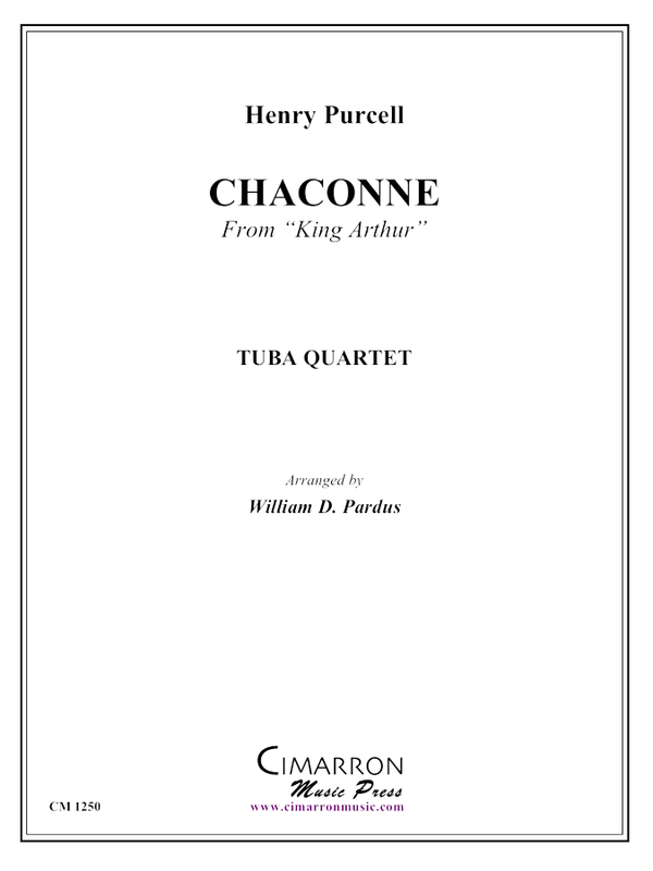 Purcell - Chaconne from King Arthur - Tuba Quartet