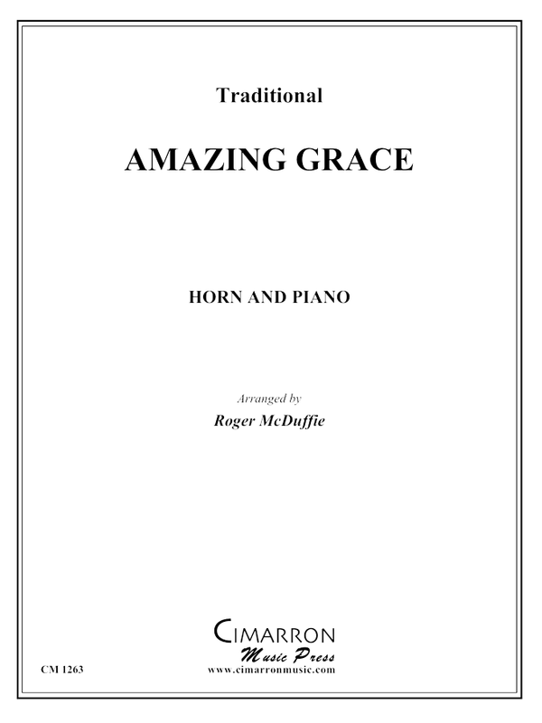 Traditional - Amazing Grace - Horn and Piano