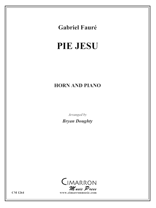 Faure, G - Pie Jesu - Horn and Piano