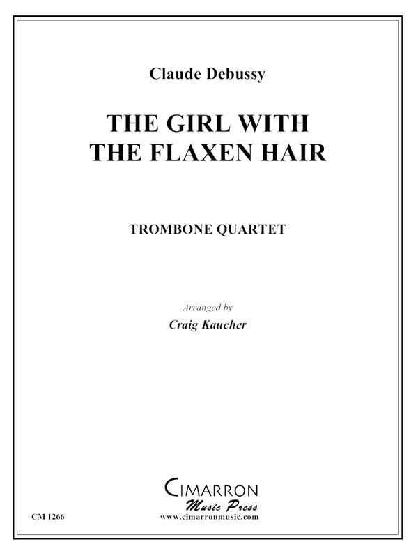 Debussy - The Girl with the Flaxen Hair - Trombone Quartet