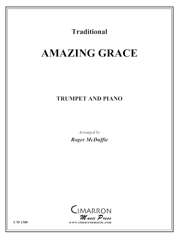 Traditional - Amazing Grace - Trumpet and Piano