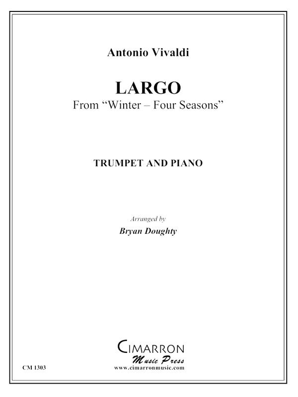 Vivaldi - Largo from Winter-Four Seasons - Trumpet and Piano