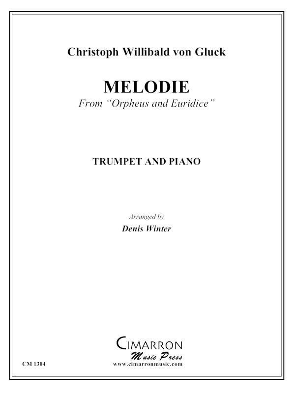 Gluck - Melodie from Orpheus and Euridice - Trumpet and Piano