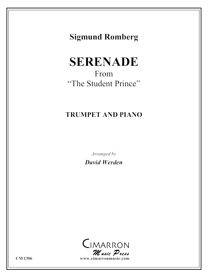 "Romberg - ""Serenade"" from The Student Prince - Trumpet and Piano"