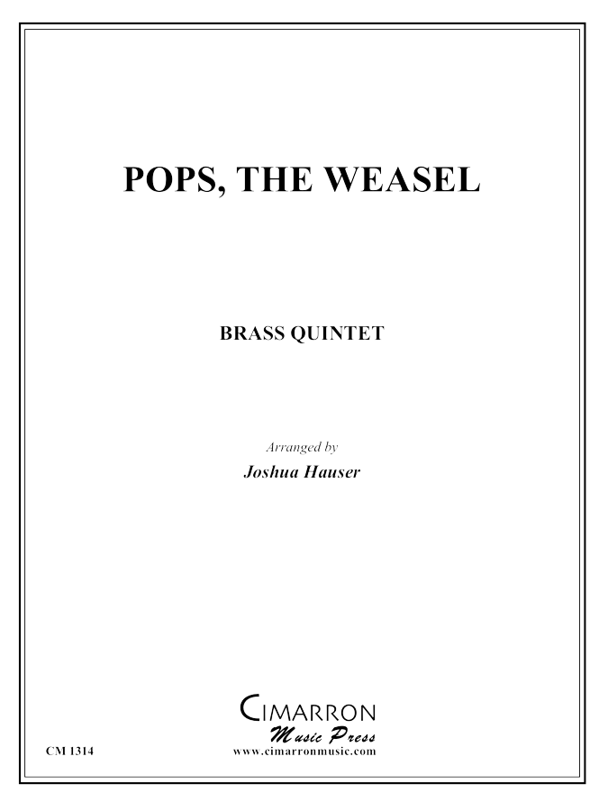 Traditional - Pops, the Weasel - Brass Quintet