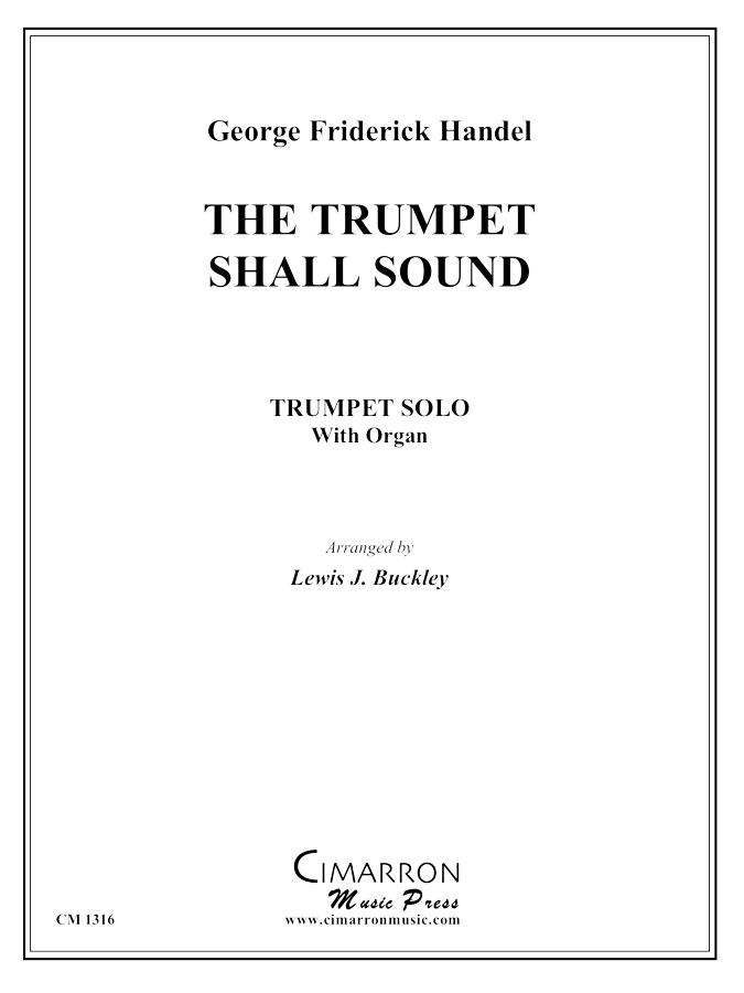 Handel - The Trumpet Shall Sound - Trumpet and Piano