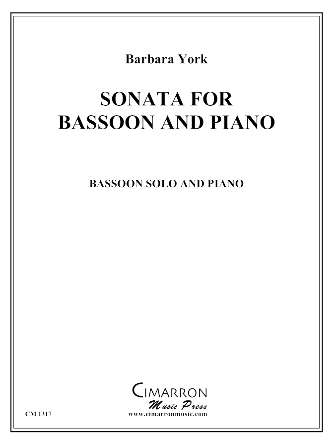York - Sonata for Bassoon and Piano