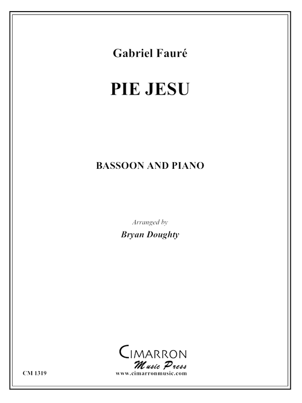 Faure, G - Pie Jesu - Bassoon and Piano