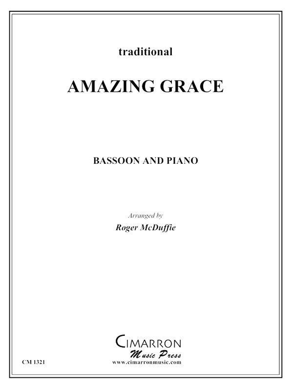 Traditional - Amazing Grace - Bassoon and Piano