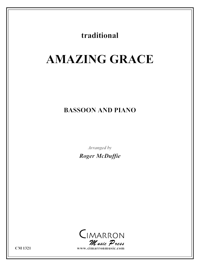 Traditional - Amazing Grace - Bassoon solo