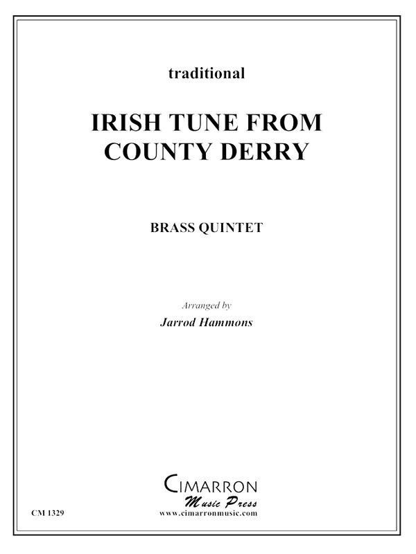 Traditional - Irish Tune from County Derry - Brass Quintet