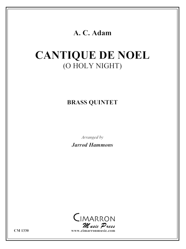 Adam - Cantique de Noel (O Holy Night) - Brass Quintet