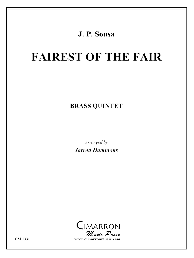 Sousa - Fairest of the Fair - Brass Quintet