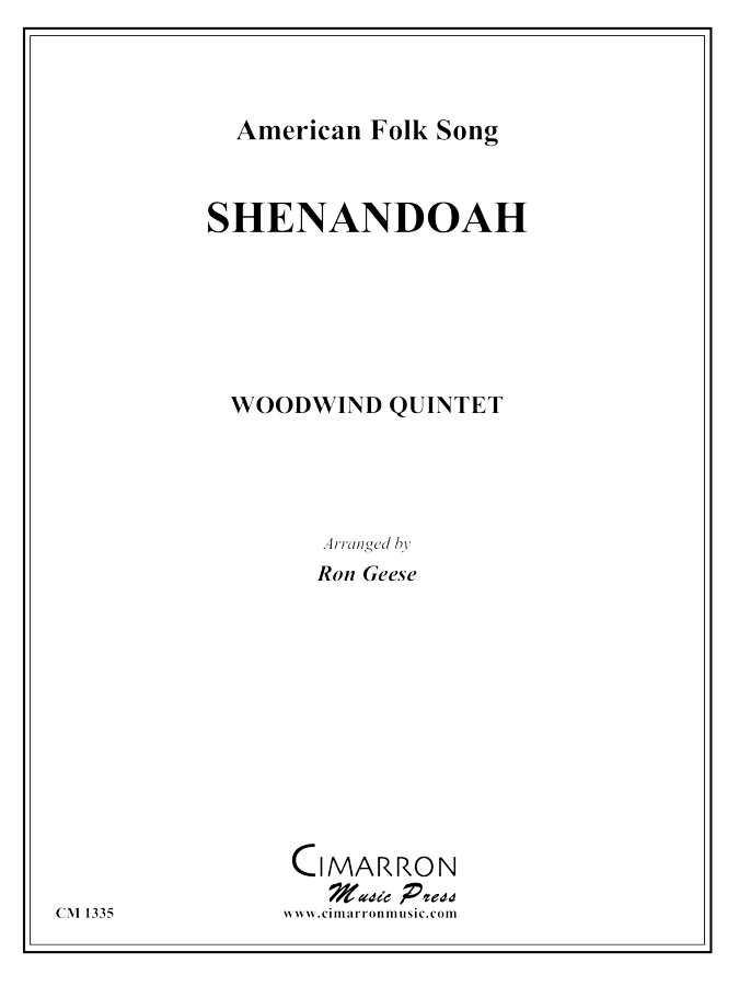 American Folk Song - Shenandoah - Woodwind Quintet