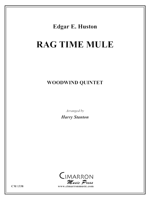 Huston - Rag Time Mule - Woodwind Quintet